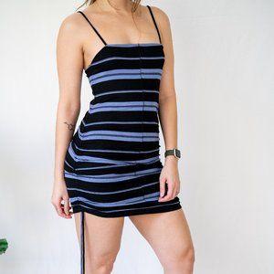 Hurley Malia  Rib Dress - Side Ties